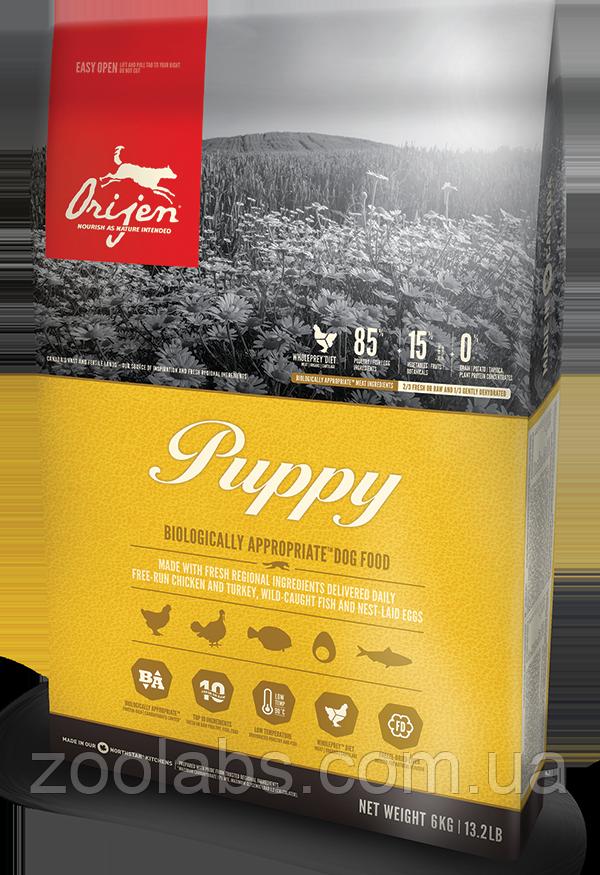 Сухий корм Orijen для цуценят   Orijen Puppy 11,4 кг