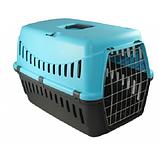 Переноска  GIPSY 2 large для котів та собак,металеві дверцята, 58х38х38 см, фото 2