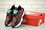 Кроссовки женские Nike Air М2К 31407 бордовые, фото 6