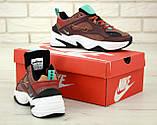 Кроссовки женские Nike Air М2К 31407 бордовые, фото 5