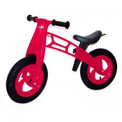 """Беговел """"Cross Bike"""" с надувными шинами, 12"""" (малиновый)  scf"""