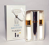 Подарочный мини парфюм унисекс Ex Nihilo Fleur Narcotique (Экс Нехило Флер Наркотик) 3 по 15 мл (реплика)
