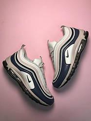 Женские кроссовки Nike Air Max 97 White Violet(белый/фиолетовый)