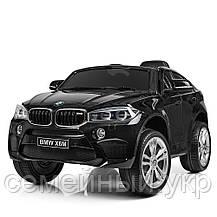 Детский электромобиль BMW X6M. Скорость: 3-5км\ч. Звуковые и световые эффекты. SD, USB. JJ2199EBLR-2, фото 2