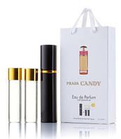 Мини духи в наборе PRADA Candy 3х15 мл