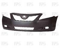 Бампер передний Toyota Camry XV40 42283 без отверстий под спойлер, без отверстия крюка (пр-во FPS)