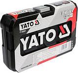"""Набор торцевых головок 3/8"""" 22 предмета YATO YT-38561 (Польша), фото 2"""