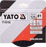 Диск-фреза шлифовальный 125х22.2 мм YATO YT-59168 (Польша), фото 3