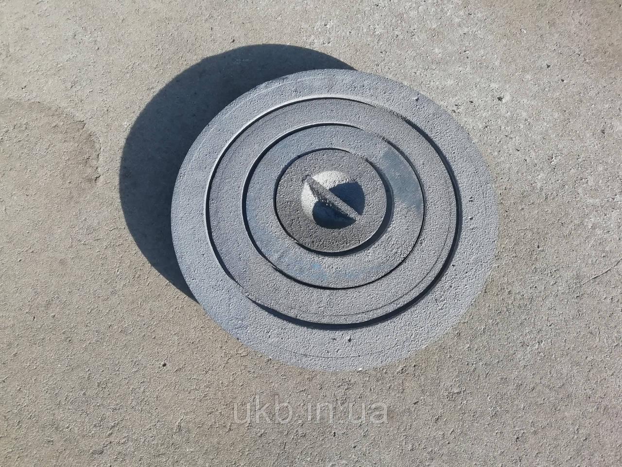 Конфорка кольцо чугунное для плиты 265 мм