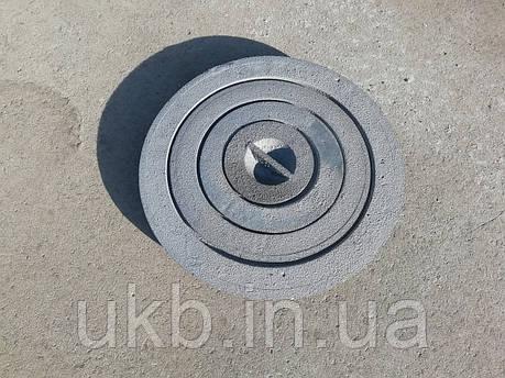 Конфорка кольцо чугунное для плиты 265 мм, фото 2