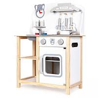 Детская деревянная кухня EcoToys CA12015 + аксесуары (9116)