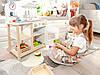 Детская деревянная кухня EcoToys CA12015 + аксесуары (9116), фото 5