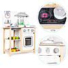 Детская деревянная кухня EcoToys CA12015 + аксесуары (9116), фото 7