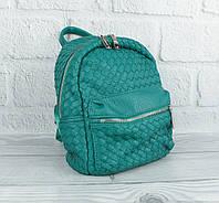 Стильный компактный рюкзак Valensiy 648-707 зеленый, переплеты, фото 1