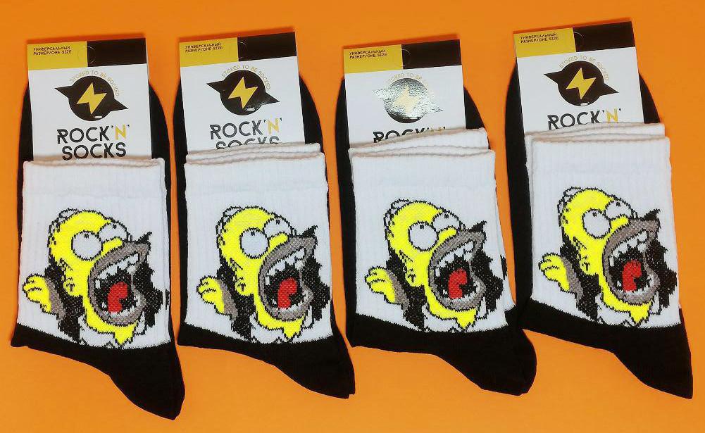 Носки с приколами демисезонные Rock'n'socks 444-74 Украина one size (37-44р) НМД-0510573