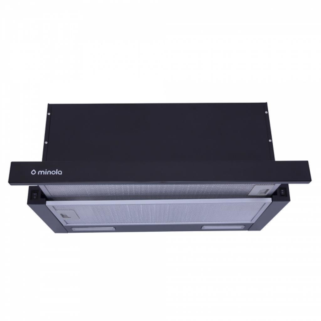 Вытяжка кухонная MINOLA HTL 6615 BL 1000 LED
