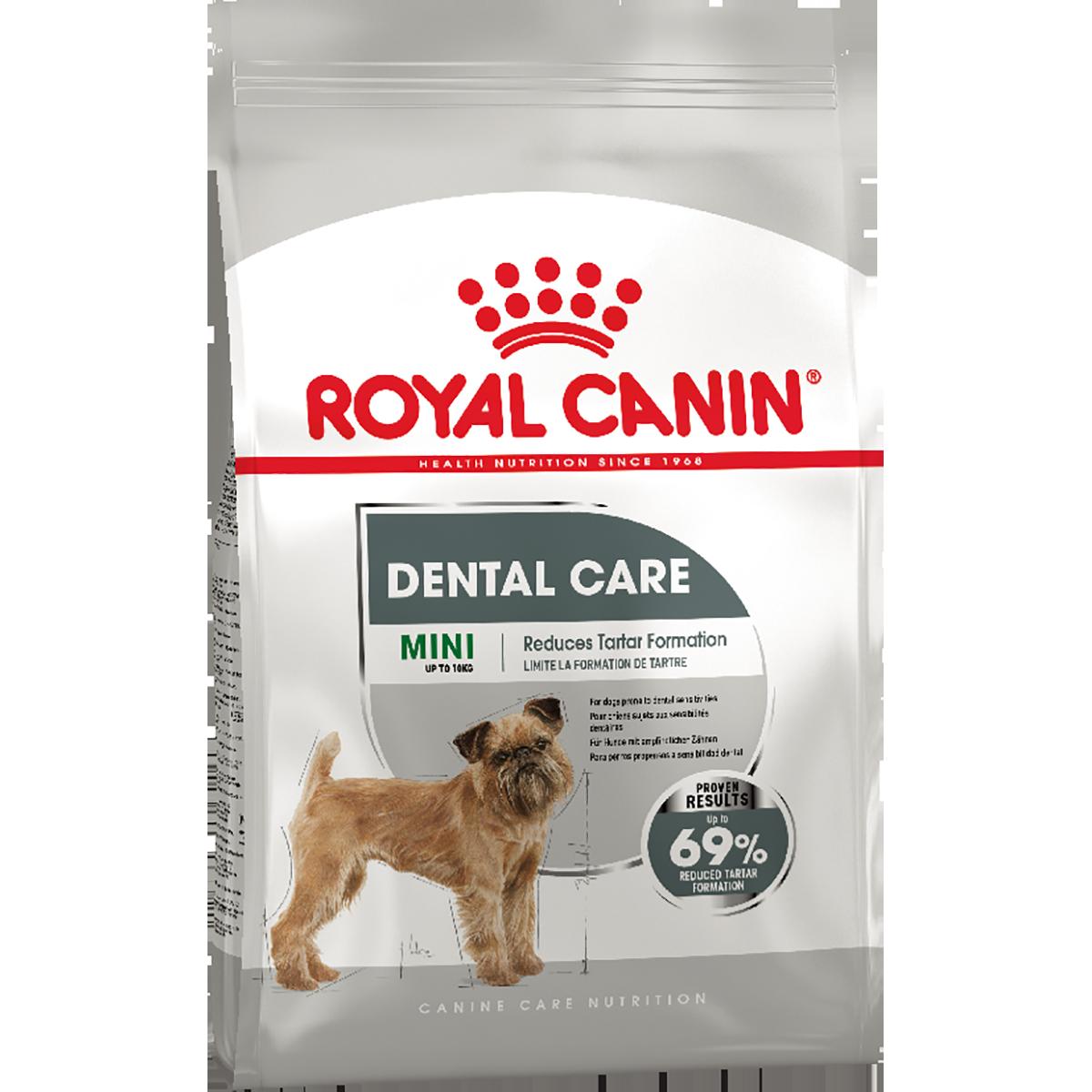 Сухой корм для собак Роял Канин Royal Canin Dental Care mini, 1 кг