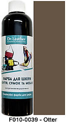 """Краска для кожи 250 мл.""""Dr.Leather"""" Touch Up Pigment Otter"""