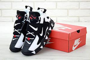 Мужские высокие кроссовки Nike Air Barrage Mid Black