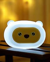 Силиконовый музыкальный ночник 3DTOYSLAMP Мишка Soothing Light