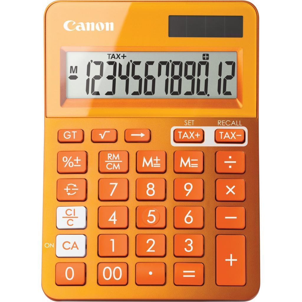 Калькулятор Canon LS-123K Orange (9490B004)