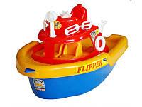 """Игрушка катер на колесах """"Флиппер"""" 01-112 Kinderway"""