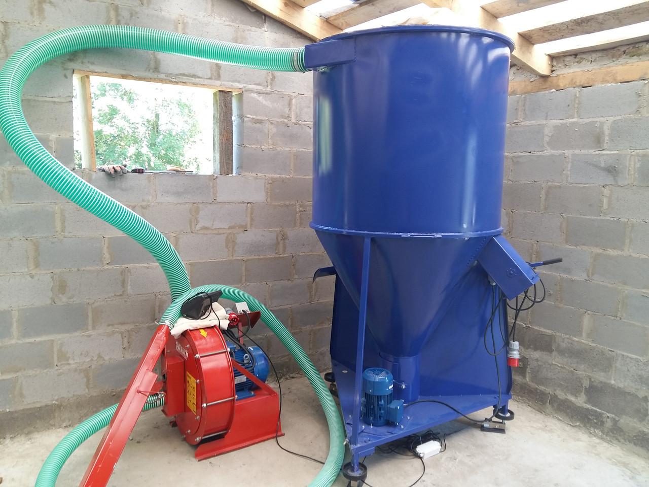 Мини комбикормовый завод для проготовления кормов (500 кг)
