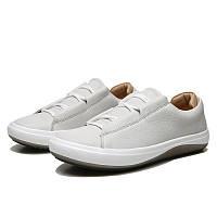 Мужские кожаные кроссовки кеды ECCO KINHIN, белый. Размер 41, 44, фото 1