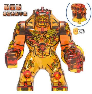 Огненный Элементаль Супергерой Марвел Мстители Аналог лего 7-9 см