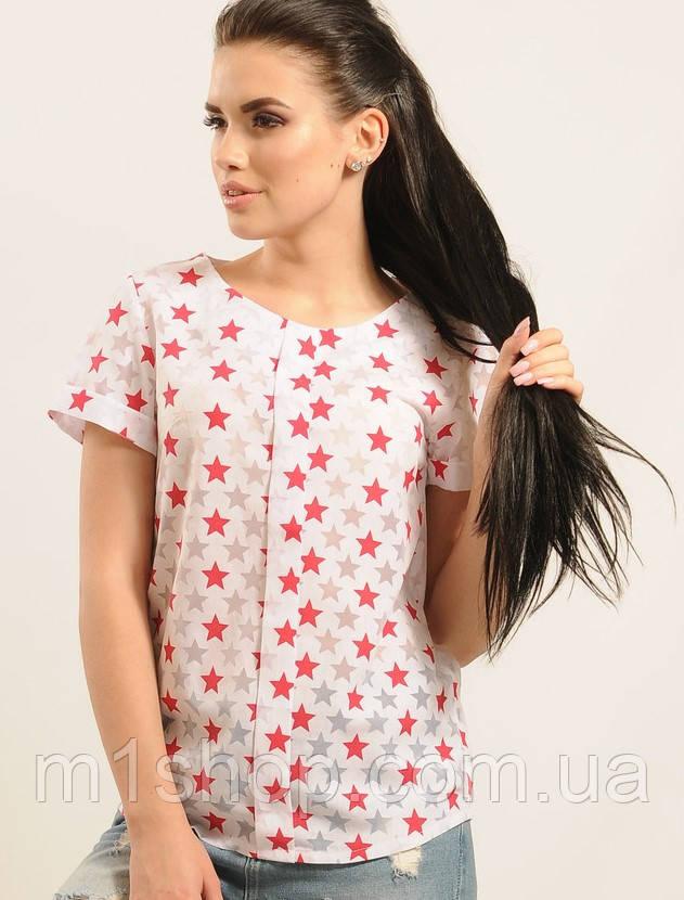 Женская блузка со звездочками (Айс ri)