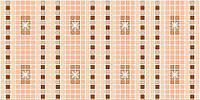 Панель ПВХ Регул Орнамент коричневый 0,3х480х957мм