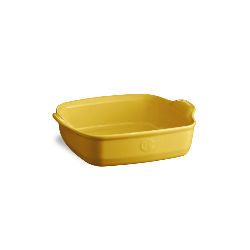Форма для запекания Emile Henry 24*24 см желтая 902050