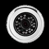 Антивандальная IP камера для внутренней и наружной установки Green Vision GV-053-IP-G-DOS20-20 POE, фото 2