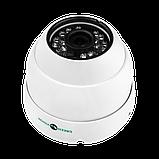 Антивандальная IP камера для внутренней и наружной установки Green Vision GV-053-IP-G-DOS20-20 POE, фото 4