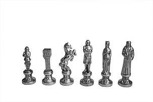 Шахматы Manopoulos Ренессанс-Рыцари в деревянном футляре 36х36 см (S9RED), фото 2