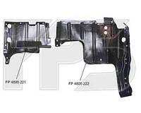 Защита двигателя правая Mitsubishi Lancer IX -08 (FPS)