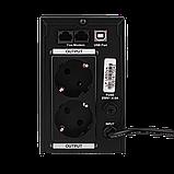 ДБЖ лінійно-інтерактивний LogicPower LP U650VA(390Вт), фото 5
