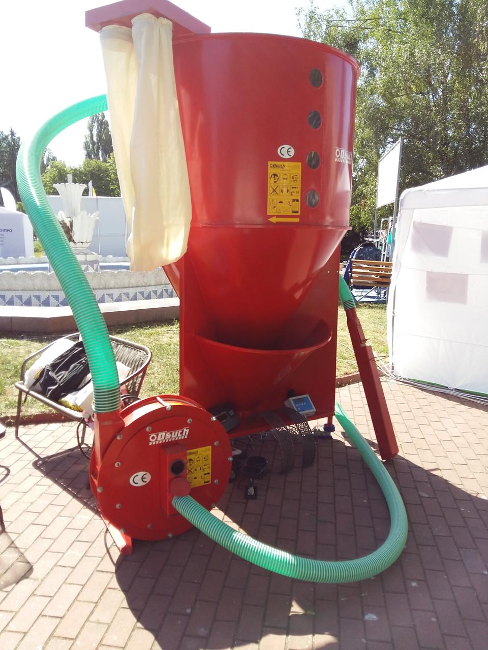 Комплект под ключ. миникомбикормовый завод (2000 кг)