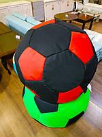 Кресло-мешок Мяч d100 черно/красный (Арт-пуф)