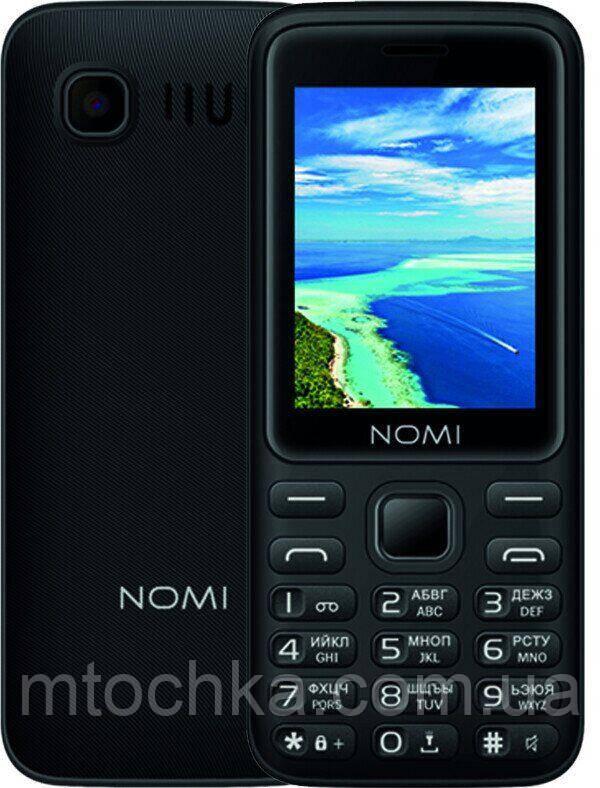 Мобильный телефон Nomi i2401 Black