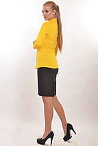Женская облегающая рубашка с вырезами на груди (Рия ri), фото 3