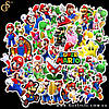 "Набор наклеек Марио - ""Mario Stickers"" - 50 шт"