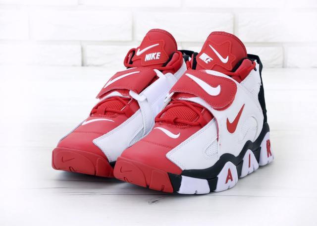 Мужские высокие кроссовки Nike Air Barrage Mid Red фото
