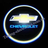 CHEVROLET/ Шевроле Врезные проекторы логотипа автомобиля в двери