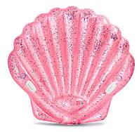 """Intex Детский надувной плотик """"Розовая ракушка"""""""