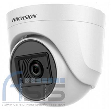 2Мп Turbo HD видеокамера Hikvision с встроенным микрофоном DS-2CE76D0T-ITPFS (2.8 мм)