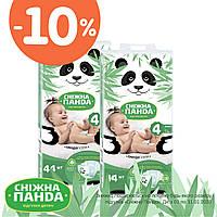 Сніжна Панда дитячі підгузки  Maxi 44 шт