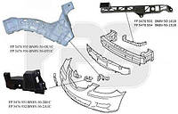 Крепеж бампера переднего левый Mazda 3 -09 SDN (FPS)