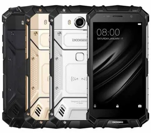 "Смартфон Doogee S60 6/64Gb, Black, 21/8Мп, IP68, 8 ядер, 2sim, экран 5.2"" IPS, 5580mAh, 4G"