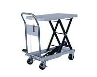 Стол гидравлический SYTJ-100, г/п 1000 кг, высота подъема 1000 мм, платформа 1000x510 мм